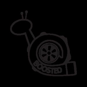Стикер за кола - Booster