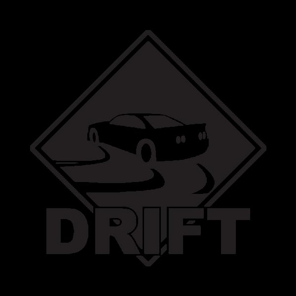 Стикер за кола - DRIFT