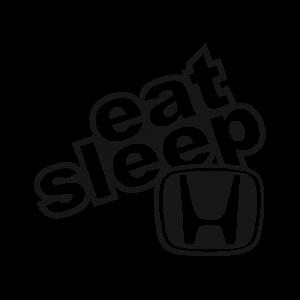 Стикер за кола Eat Sleep Honda