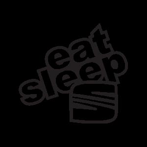 Стикер за кола - Eat Sleep Seat
