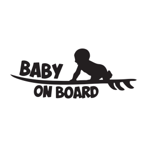 Стикер за кола Baby on Board 11