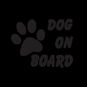 Стикер за кола Куче на борда