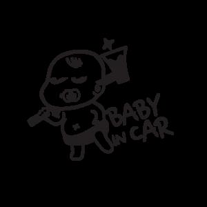 Стикер за кола Baby In Car 18