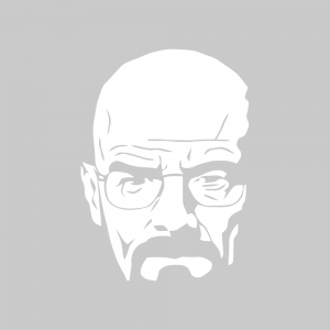 Стикер за кола - Breaking Bad Walter White 01