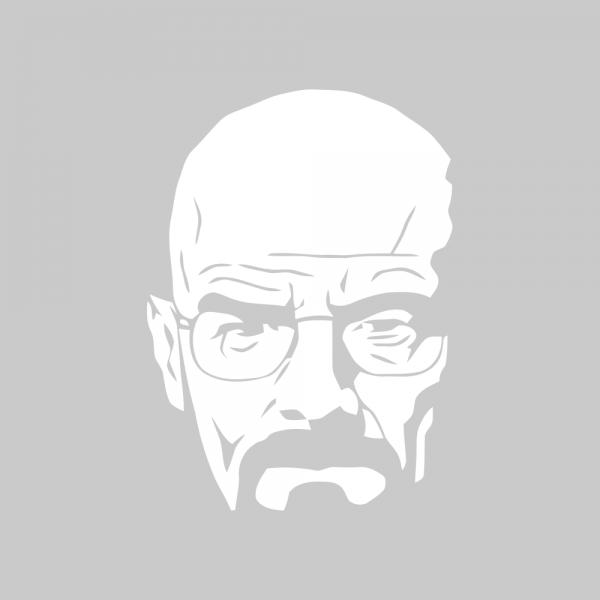 Стикер за кола - Breaking Bad Walter White 01