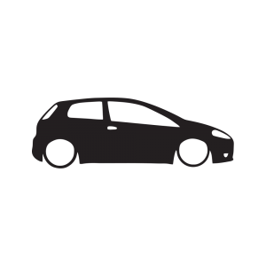 Стикер за кола Fiat Punto 01