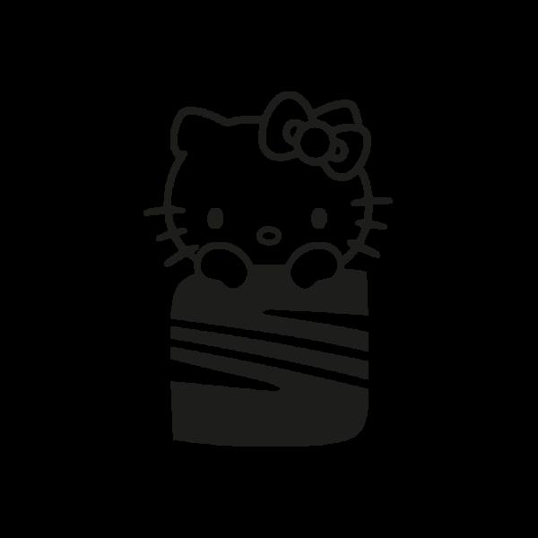 Стикер за кола Hello Kitty Seat