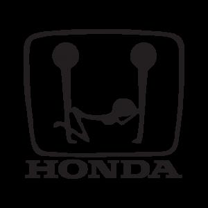 Стикер за кола - Honda Love