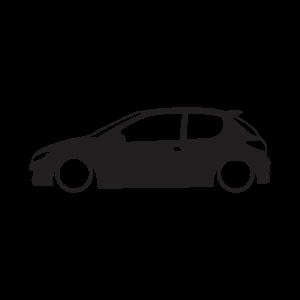 Стикер за кола Пежо 206