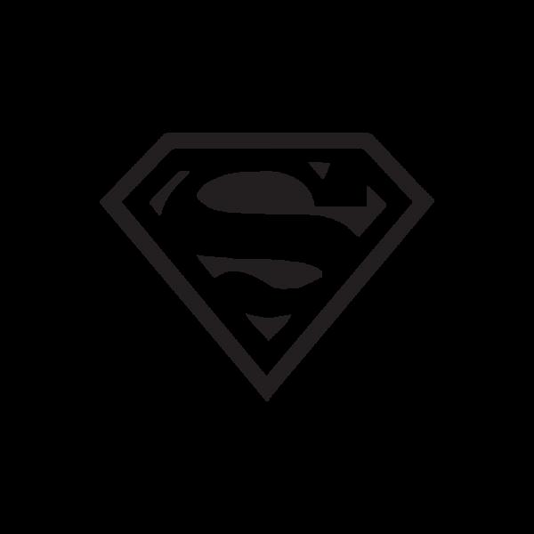 Стикер за кола Superman