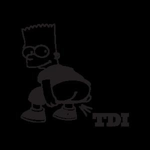 Стикер за кола - TDI