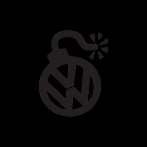 Стикер за кола VW Бомба
