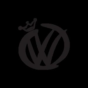 Стикер за кола VW King