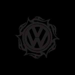 Стикер за кола VW Топка
