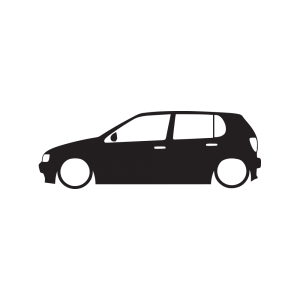 Стикер за кола VW Polo