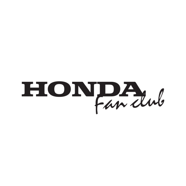 Стикер за кола - Honda Fan Club