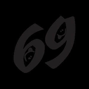 Стикер за кола 69