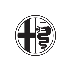 Стикер за кола Alfa Romeo Лого