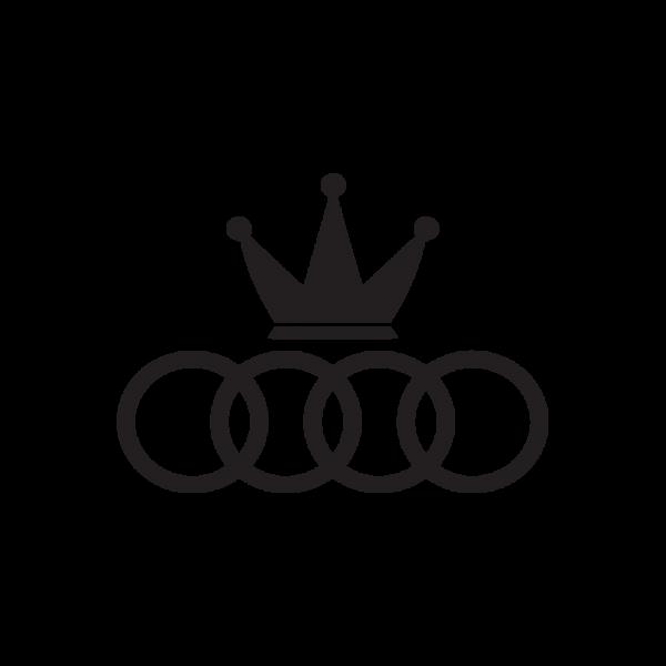 Стикер за кола Audi King 02