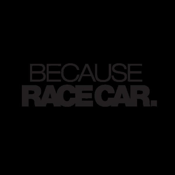 Стикер за кола Because race car.