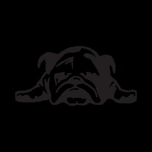 Стикер за кола Bulldog