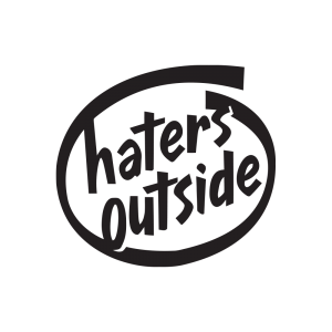 Стикер за кола haters outside