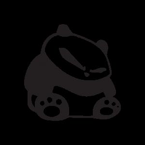 Стикер за кола Панда