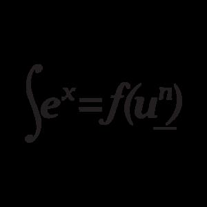 Стикер за кола Математическа формула