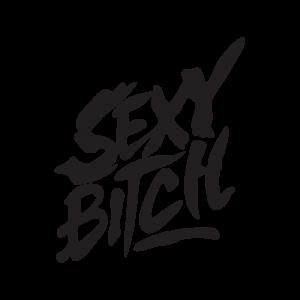 Стикер за кола Sexy Bitch