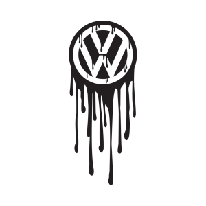 Стикер за кола VW Blood