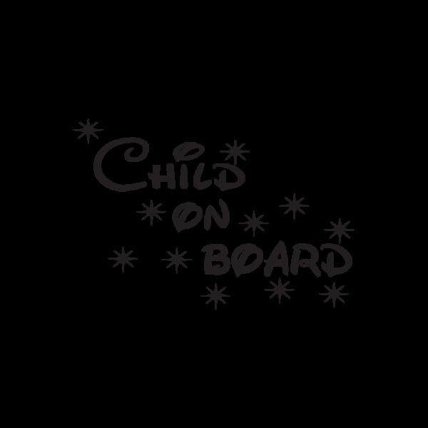 Стикер за кола - Child On Board