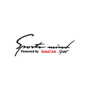 Стикер за кола - Sport Mind powered by Dacia Sport