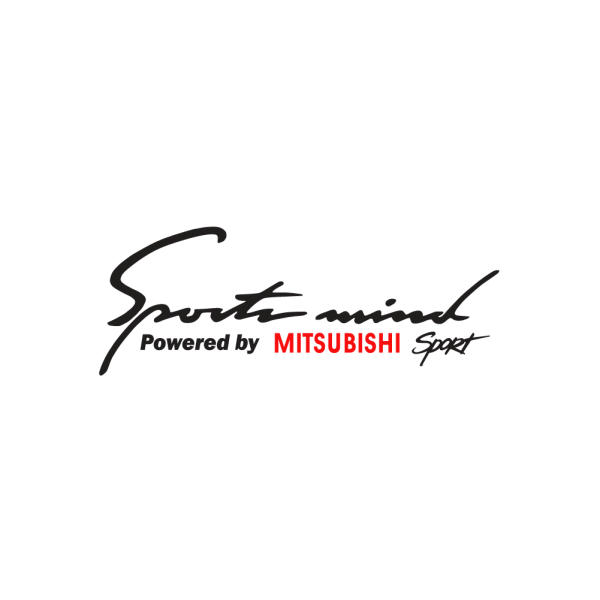 Стикер за кола - Sport Mind powered by Mitsubishi Sport
