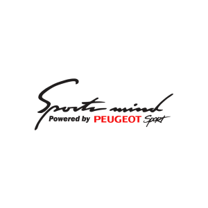 Стикер за кола - Sport Mind powered by Peugeot Sport