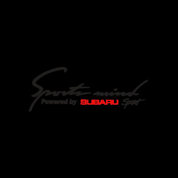 Стикер за кола - Sport Mind powered by Subaru Sport